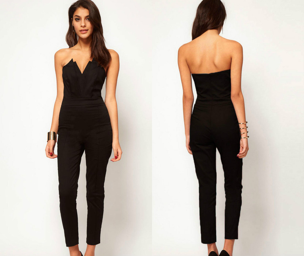 Popular Plus Size Black Jumpsuit-Buy Cheap Plus Size Black ...