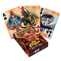 Bicycle Age Of Dragons Playing Cards Bicycle Anne Stokes Deck Poker Size USPCC Limited Edition Deck