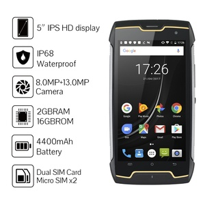 Image 2 - Cubot KingKong robusto Smartphone IP68 impermeabile 4400mAh bussola batteria grande GPS 3G dual sim Android 7.0 2GB RAM 16GB ROM MT6580