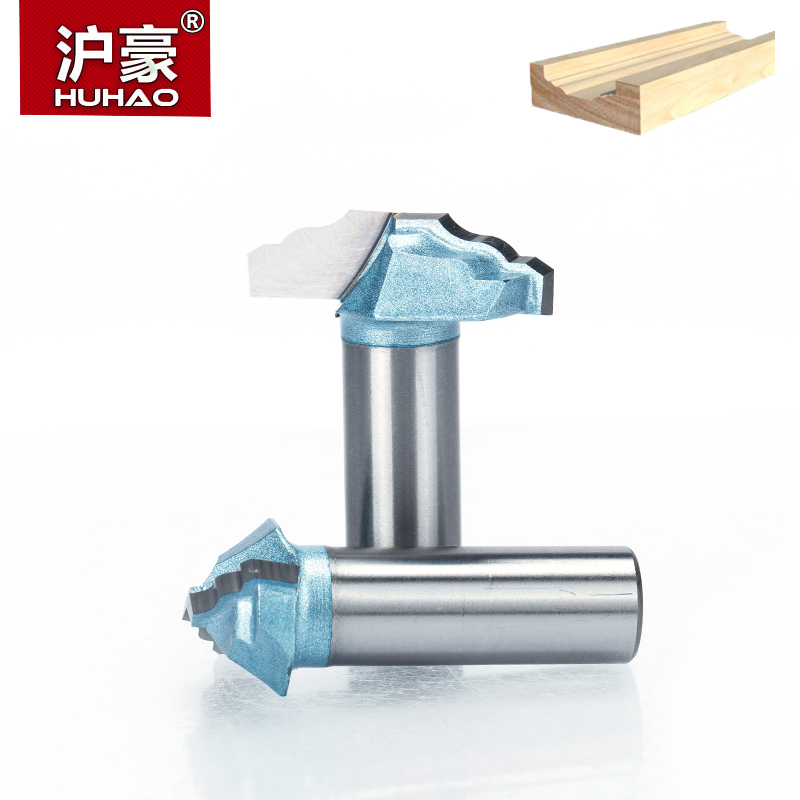 HUHAO 1pc Shank 1/2 Woodworking Router Bit Engraving Door Cabinet Engraving Tool Tungsten Carbide End Mill CNC Milling Cutter 5 models freeshipping cnc engraving machine nut tungsten woodworking router bit tool carbide end milling cutter tool