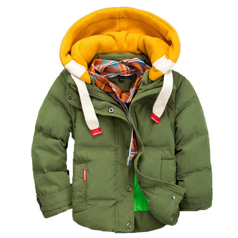 56380d80796 2015 Winter Children Jackets Boys Down Coat Kids Outerwear Coats Moveable  Sleeve Clothing For Baby Boy 2 10 Years-in Down   Parkas from Mother   Kids  on ...