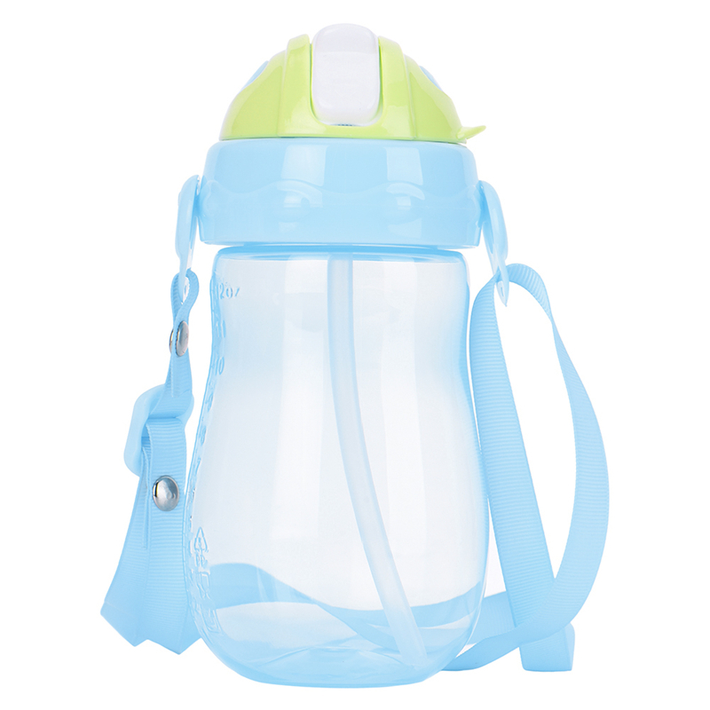 350ml Cute Baby Training Cup Learn Feeding Drinking Water Straw Handle Bottle Training Cup Baby Feeding Cup for Infant Drink