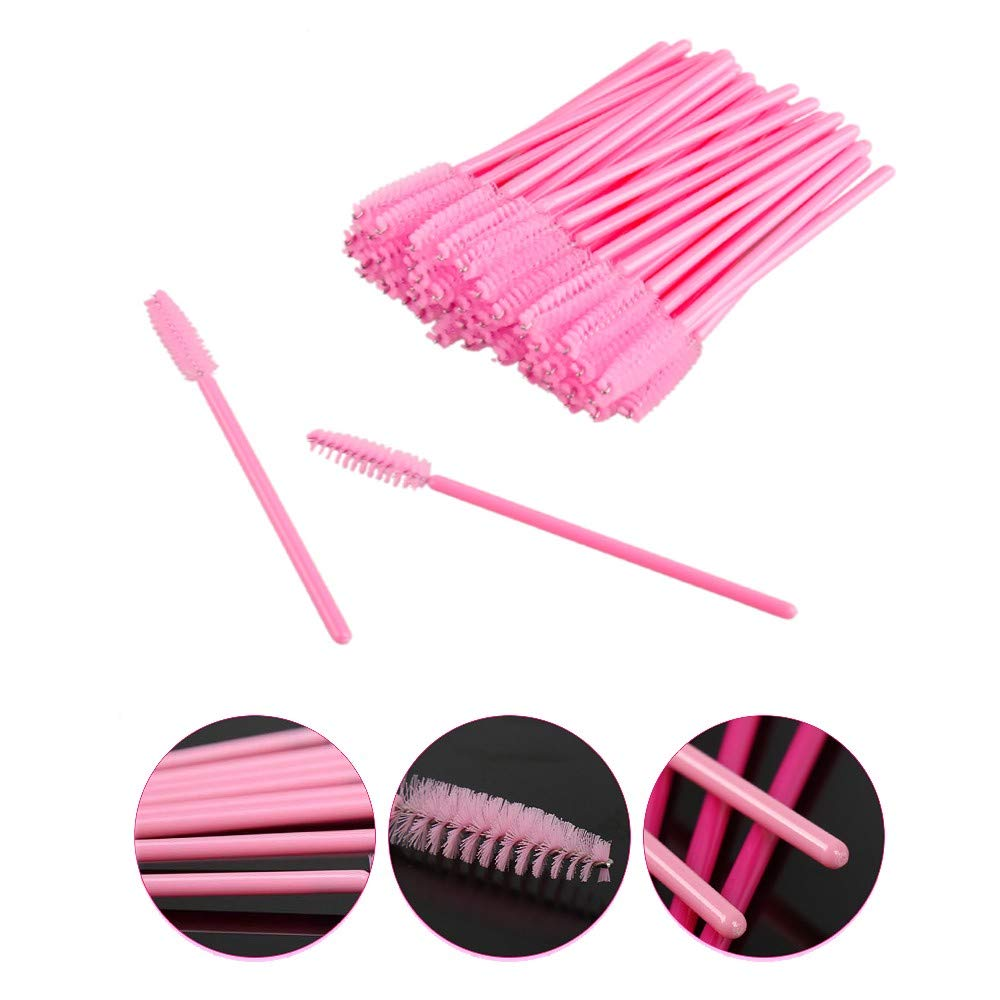 1000PCS Eyelash brushes Makeup brushes Disposable Mascara Wands Applicator Spoolers Eye Lashes Cosmetic Brush Makeup Tools in Eye Shadow Applicator from Beauty Health