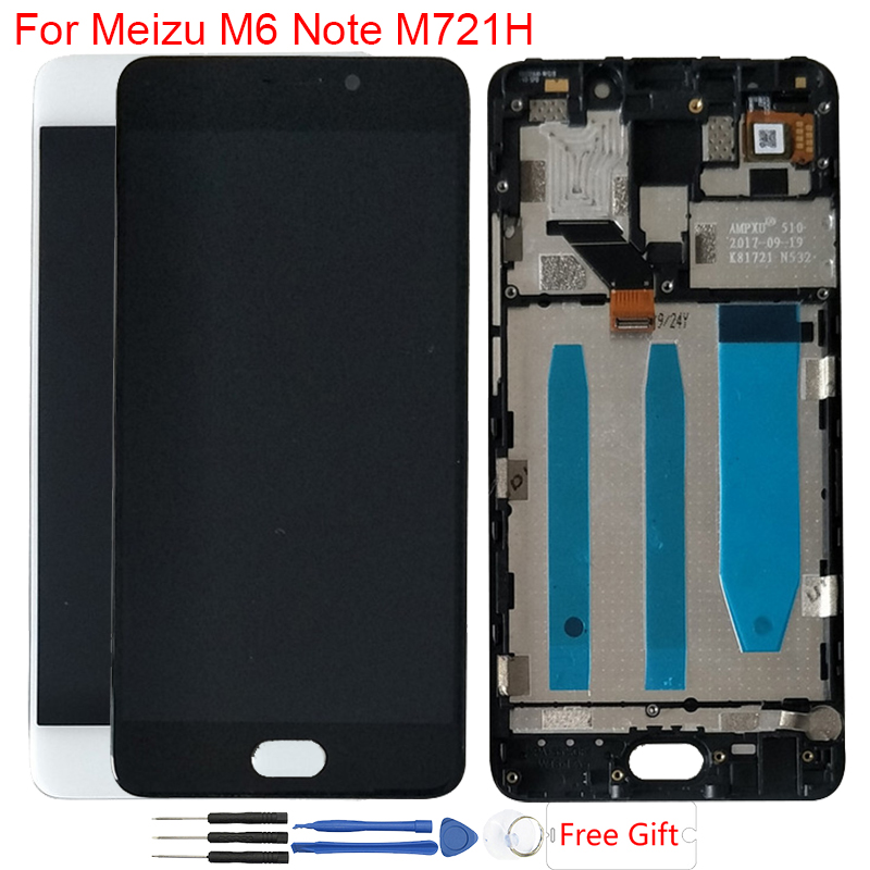 Original LCD 5.5 Meizu M6 Note LCD Display Touch Screen With Frame Digitizer Assembly For Meizu Meilan Note 6 M721H M721Q LCDOriginal LCD 5.5 Meizu M6 Note LCD Display Touch Screen With Frame Digitizer Assembly For Meizu Meilan Note 6 M721H M721Q LCD
