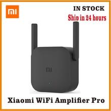 Xiaomi Pro 300Mเครื่องขยายสัญญาณWiFi WiFi Repeater 2.4GสัญญาณWifi Extender RoteadorการควบคุมAPP Wifi Extender Amplificadorสีดำ