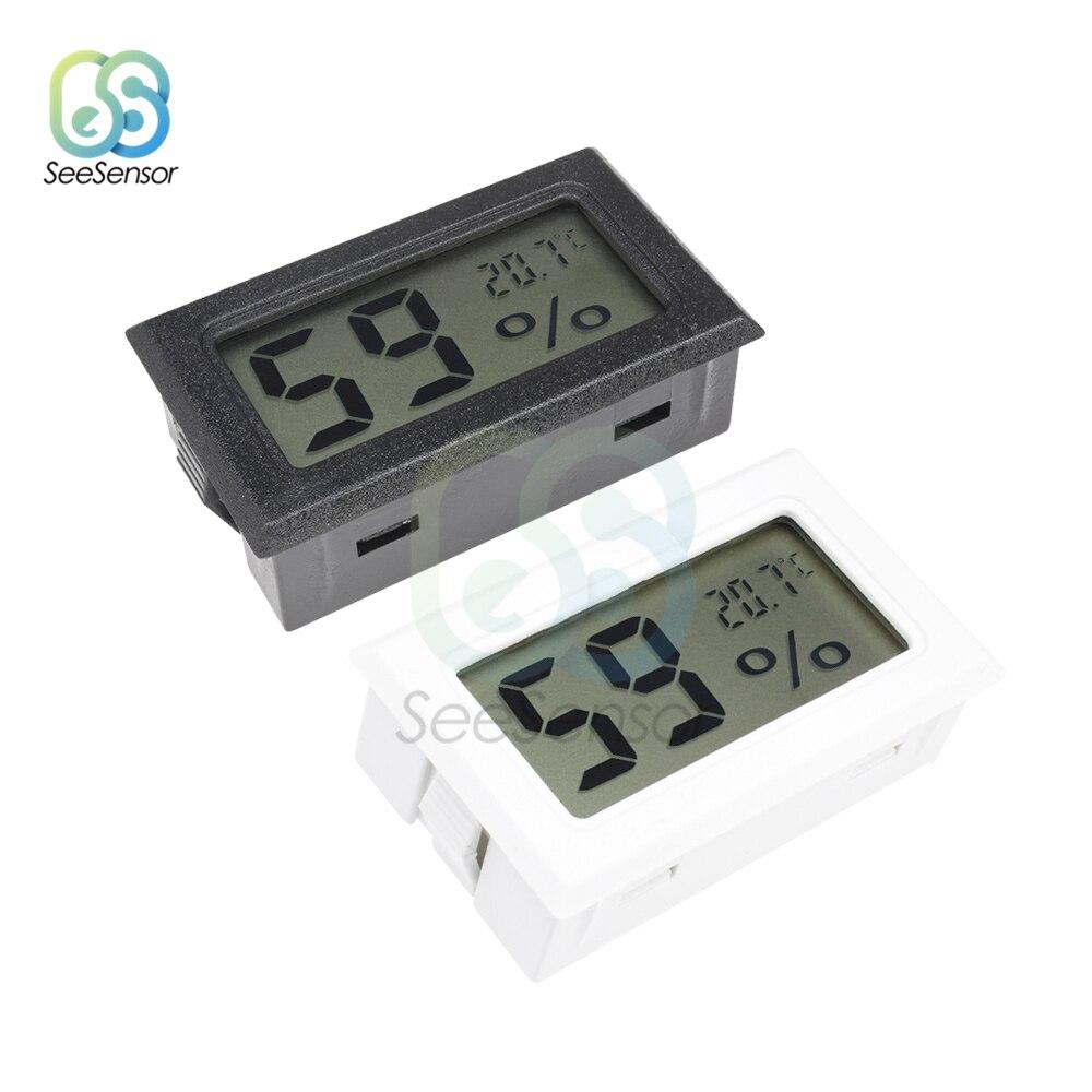 1 X Mini Digital LCD Indoor Temperatur Feuchtigkeit Meter Thermometer Hygrometer