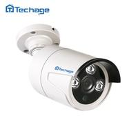 Techage 720 P 1080 P 2.0MP Cámara Analógica AHD Cubierta Impermeable Al Aire Libre IR Matriz de Led CCTV Vigilancia de Seguridad AHDM AHDH cámara