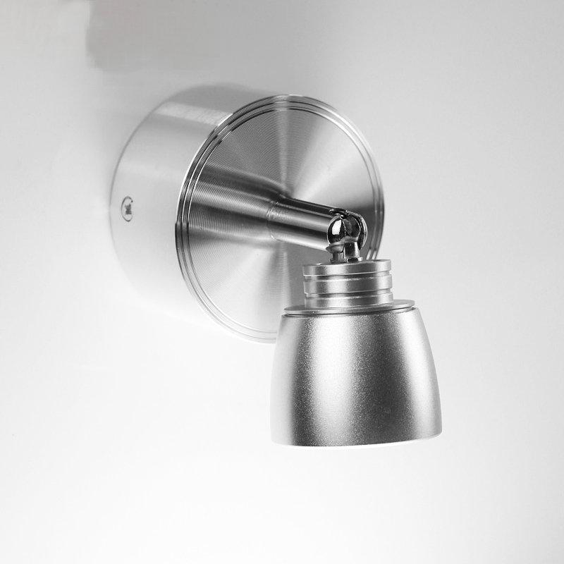 1pcs New LED Spot Lamps  3w Led Bedroom Bedside Light Direction Adjustable Reading Lamp Home Lighting 3 Years Warranty Time