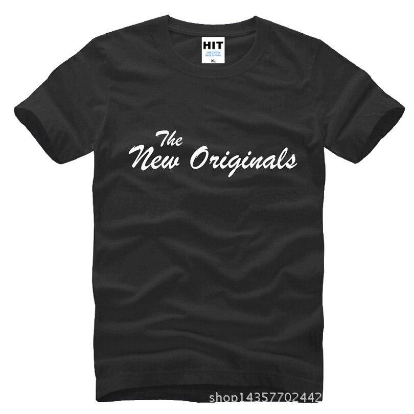 뱀파이어 일기 새로운 원본 TV 시리즈 인쇄 남성 남성 T 셔츠 Tshirt 2015 짧은 소매 티셔츠 Camisetas 아저씨