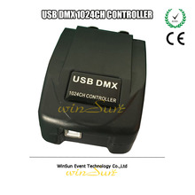 Convenient to Carry Remote DMX Controller Martin Light Jockey USB 1024 DMX PC Software Console Kit Control Stage Luminaire(China (Mainland))