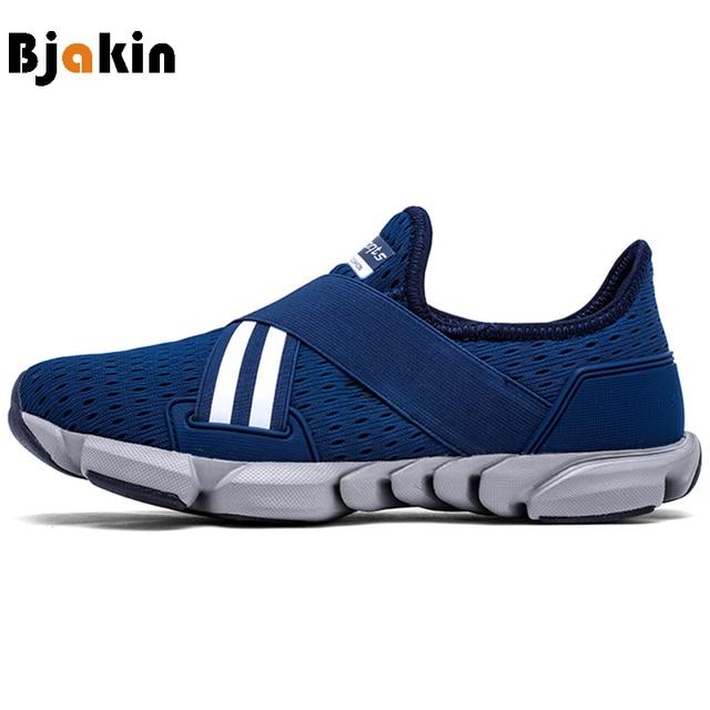 more photos 53cf2 73392 Bjakin zapatillas verano Zapatos corrientes para los hombres 2018 Spors  zapatos atléticos transpirable hombre zapatillas Ultra
