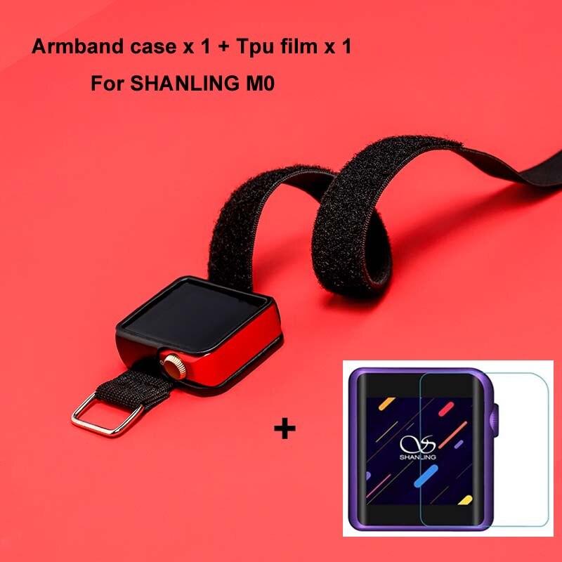 Lauf Kamel Für SHANLING M0 Armband Sport Leder Fall für HIFI MP3 Musik Player M0