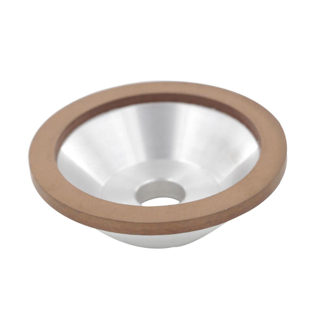 100x32x20x10x3mm 600/800/1000/1200Grit 75% Concentration Bowl Shape Diamond Grinding Wheel