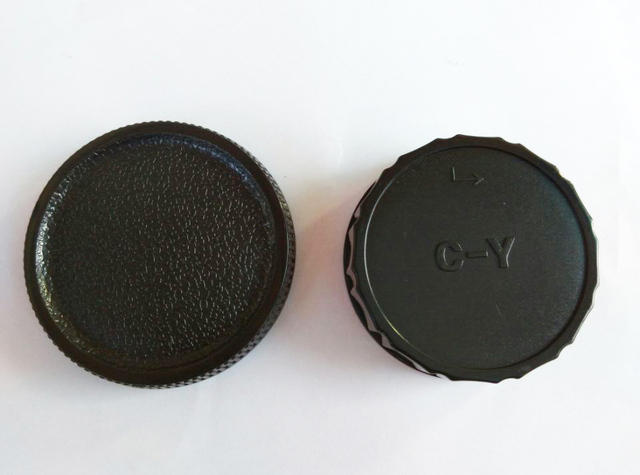 10 paires de capuchon de corps de caméra + capuchon dobjectif arrière pour Contax Yashica C/Y CY C Y monture DSLR SLR avec numéro de suivi