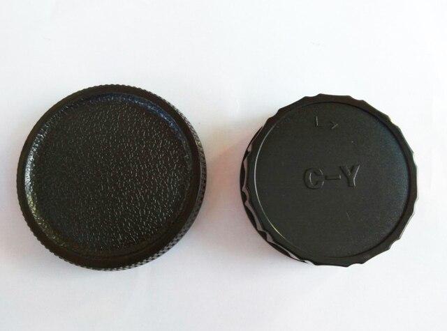10 pares de tapa del cuerpo de la Cámara + tapa de la lente trasera para Contax Yashica C/Y CY C Y montaje DSLR SLR con número de seguimiento