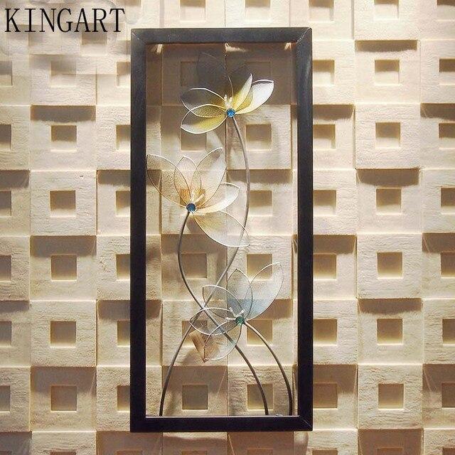 Kingart Retro Metal Wall Decor Antique Iron Art Home Decoration Plaque