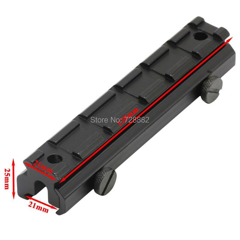 Taktische 20mm Bereich-einfassung Riser Hohe Picatinny Weaver Schiene Basis Raiser Gun Zubehör Kostenloser Versand
