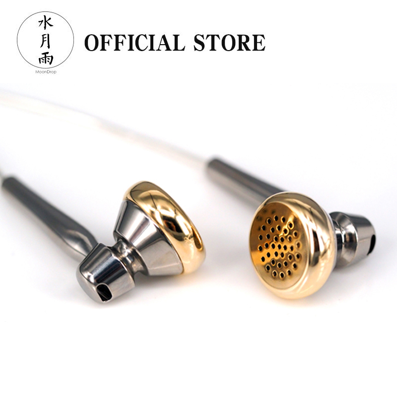 Moondrop CHACONNE Dynamic Earphones Titanium Shell LCP Diaphragm 3 5mm 2 5mm 4 4mm Line Type