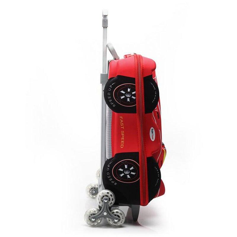 Baigio Baby Boys Cartoon Plane EVA 18 '' 3D Bagage Barns Hjulvagn - Väskor för bagage och resor - Foto 3