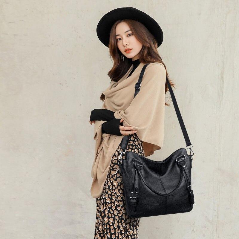 2018 Luxury Handbags Women Bag Designer High quality Leather Shoulder Bag Women Big Tote Casual Female Shoulder Messenger Bags