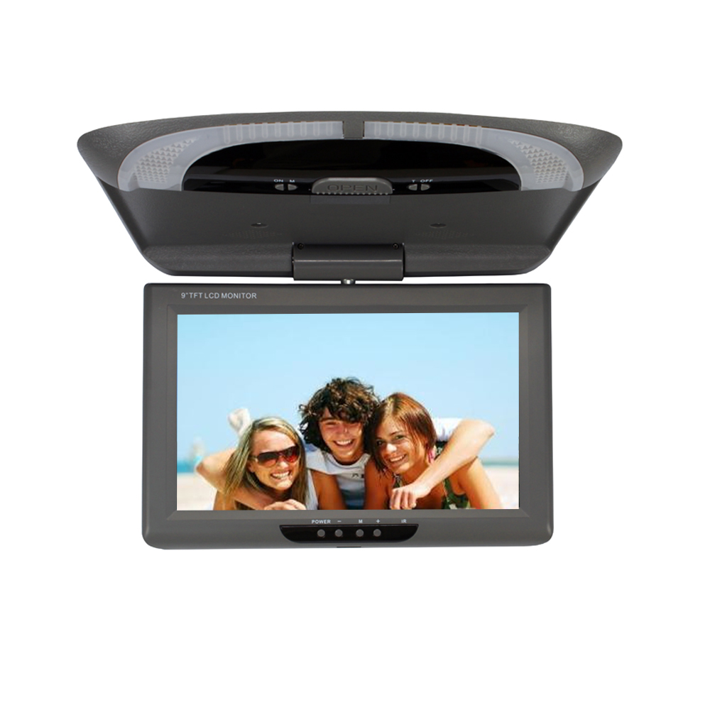 9 Inch Flip Down Monitors Roof Mount Monitor Tft Led