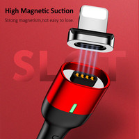 US-SJ143 Type-C Magnetic Cable Magnetic Cable Fast Charging Cable
