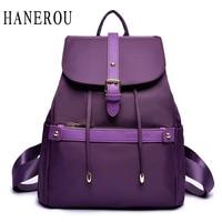 Waterproof Nylon Women S Backpacks Female Casual Travel Bag Fashion Belt School Bags For Teenagers Famous