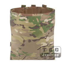 Emerson Tactical MOLLE Utility Magazine Mag Dump Recycling Foldable Drop Pouch Multicam