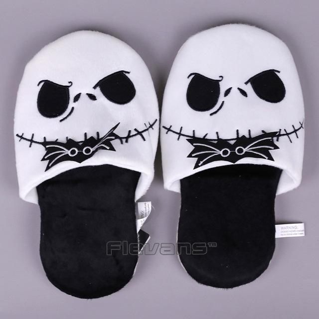 Nightmare Before Christmas Plush Slippers