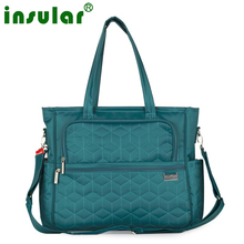 high quality plaid Multifunctional mother Messenger bag fashion waterproof Maternity tote nappy bags baby stroller diaper bag