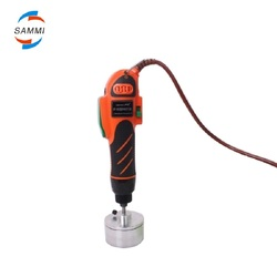 SM-II Big Torque plastic e liquid bottle capping machine, e-liquid bottle capper