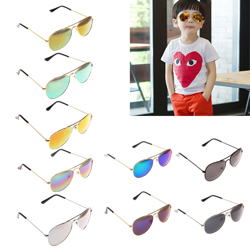 Fashion Kids Children Boys Girls UV Protection Goggles Sunglasses Eyewear
