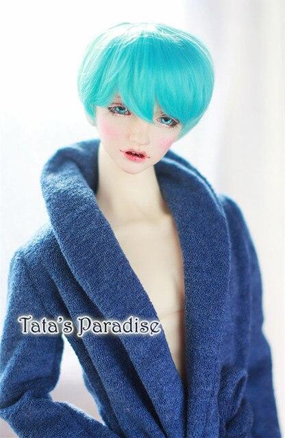 1/3 1/4 1/6 BJD Wigs High-Temperature short hair  for bjd dollfie