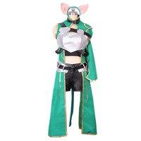 2016 Asada Shino Cosplay Sword Art Online 2 Sinon Military