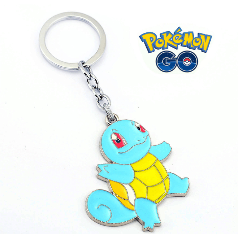 ORP Anime game theme products Pokemon Go Logo Keychain fine accessories wholesale