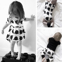 Baby Girls Dress Cartoon Infant Summer Dress For Birthday Party Princess Floral Vestido Infantil Animal Baby