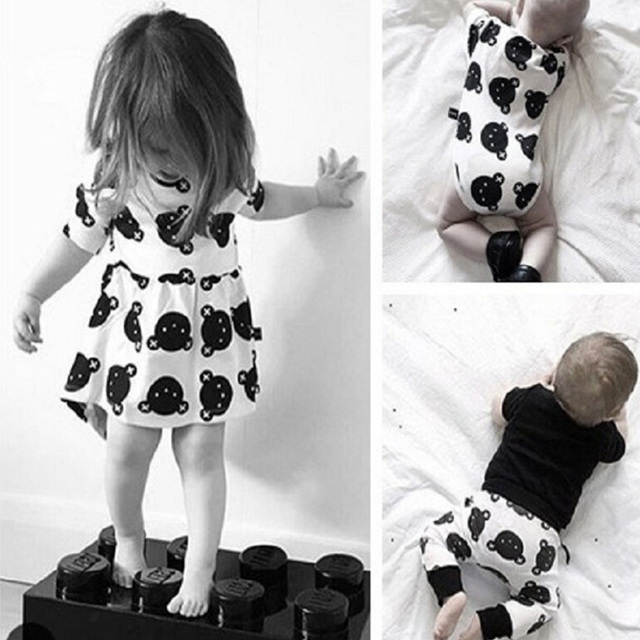 e35574dc2 Baby Girls Dress Cartoon Infant Summer Dress For Birthday Party ...