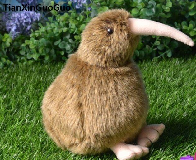 about 15cm brown kiwi bird New Zealand national bird plush toy soft doll baby toy birthday gift w0917
