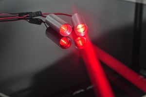 Image 3 - Fat Beam 660nm Red 130mW Laser Diode Module for KTV Bar DJ Stage Club Lighting