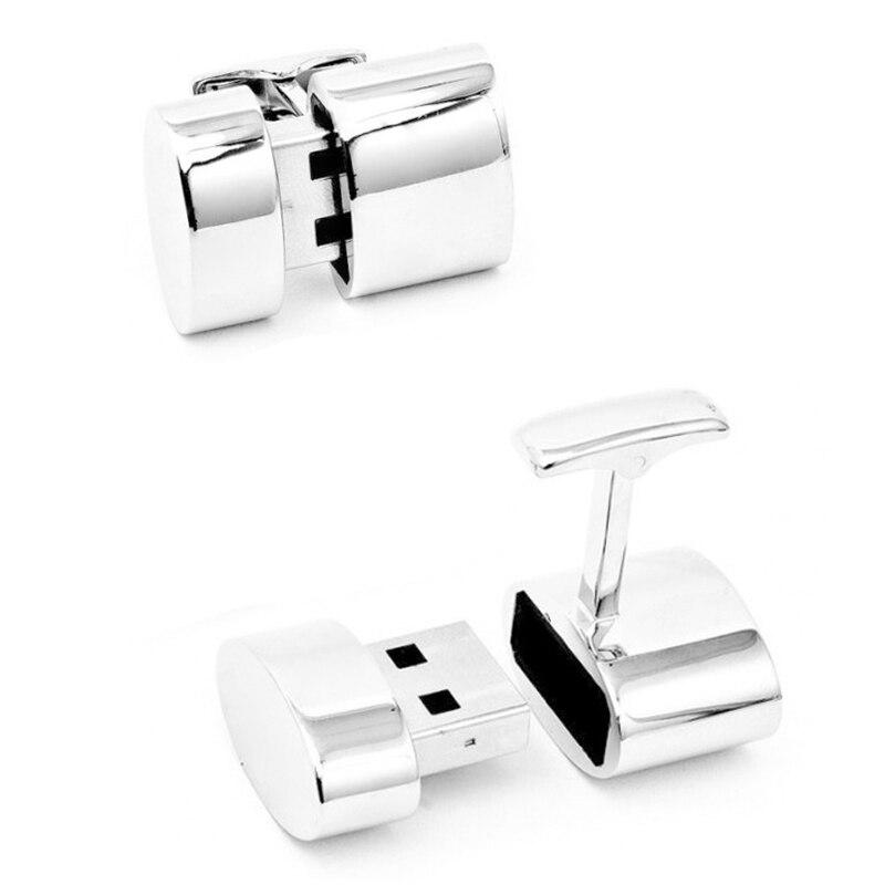 32G USB Pen Drive Flash USB For Cufflink Memory Stick 4GB 8GB 16GB 32GB 64GB Pendrive For Laptop Notebook Desktop Computer