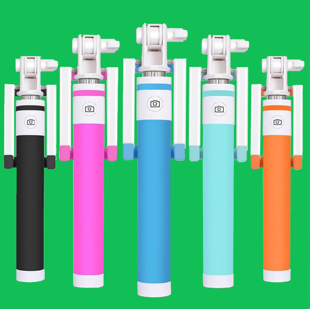 Mini Selfie Stick for Google ZTE Asus ZenFone Android Motorola Wiko Alcatel for Redmi iPhone XR XS X 8 7 Selfy Monopod Camera