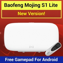 2017 Baofeng Mojing S1 Virtual Reality Glasses 3D VR Box with Fresnel Lens 110 FOV + Free Remote for iPhone & Android Smartphone