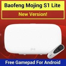 Baofeng Mojing S1 Очки виртуальной реальности 3D Очки виртуальной реальности VR гарнитура с линзой Френеля 110 FOV + бесплатная пульт дистанционного управления для iPhone и Android-смартфон