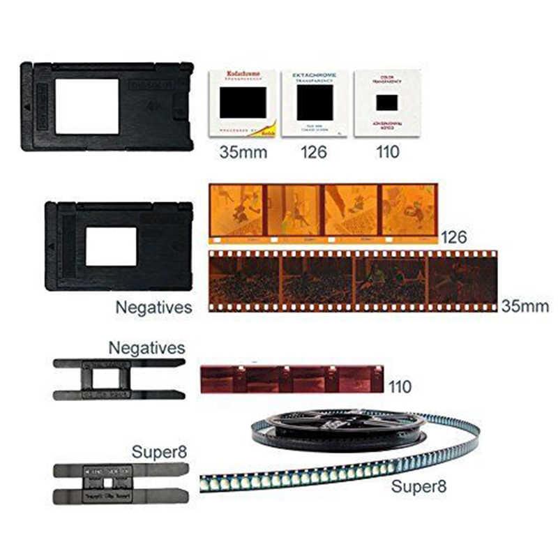 22Mp Поддержка 35 мм 110 слайдер отрицательный 126Kpk Супер 8 пленка силда сканер цифровой преобразователь