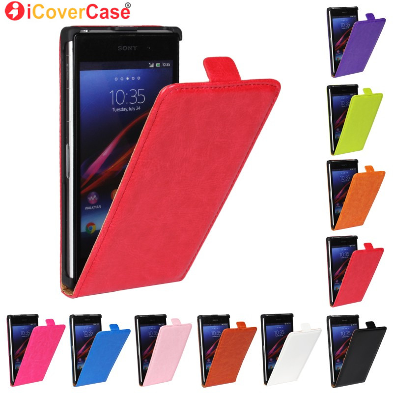 Case For Coque Business-Cover Sony Xperia Z1-Vertical Capa Fundas Flip Z1-L39h Fahsion