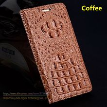 Fashion Cover For Xiaomi Redmi Note 4 Note4 5.5″ Top Quality Genuine Leather Flip Luxury Case 3D Crocodile Grain + Free Gifts