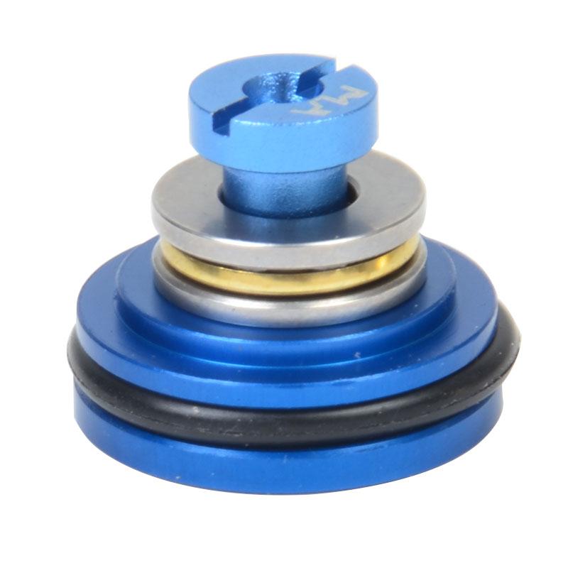 Sinairsoft Airsoft kullagerkolvhuvud Aluminium virvelvind 5 hål för Ver.2 / 3 AEG växellåda (ny typ) Gratis frakt