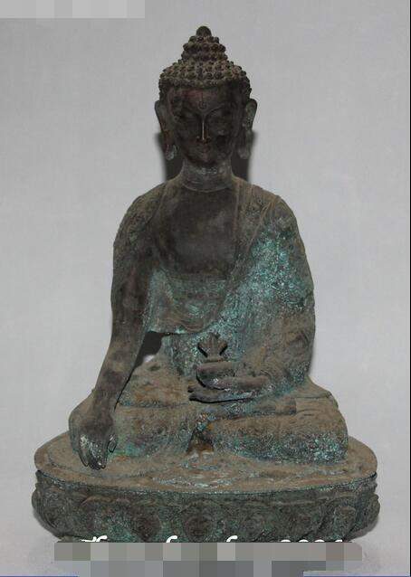 11 Antique Tibetan Buddhism Bronze Shakyamuni Sakyamuni Amitabha Buddha Statue11 Antique Tibetan Buddhism Bronze Shakyamuni Sakyamuni Amitabha Buddha Statue