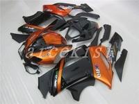 New Abs motorcycle Fairings Kit Fit for kawasaki Ninja ZX6R 636 2007 2008 07 08 6R ZX 6R 600CC Bodywork set custom orange black