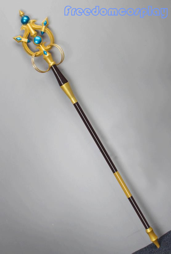 Ambitious Anime Cardcaptor Sakura Kinomoto Sakura Star Wing The Magic Wand Staff Weapon Cosplay Props Cosplay Accessory Costume Props Costumes & Accessories